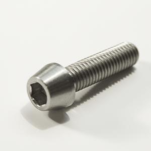 Titanium screw - Tapered Socket Cap - Din 912 C- TA6V (Grade 5) - Diameter  M5