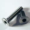 Titanium screw - Countersunk Bolt - Din 7991 - TA6V (Grade 5) - Diameter M2.5